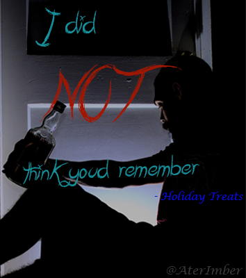 AterImber.com Holiday Treats Supernatural Fanfiction Book Poster