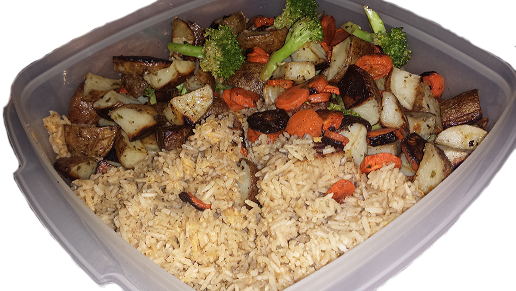 AterImber.com Vegan Recipe - Roasted Veggie Rice