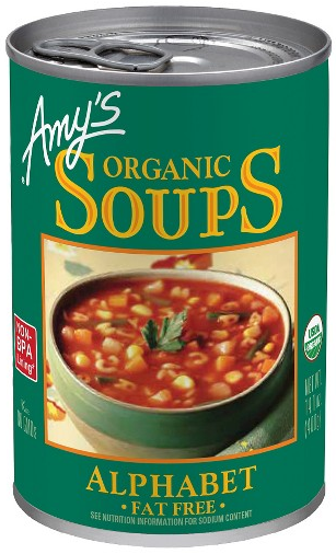 AterImber.com - The Veg Life - Vegan Food - Amy's Alphabet Soup