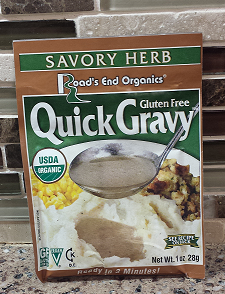 AterImber.com - The Veg Life - Roads End Savoury Herb Gravy Product Review