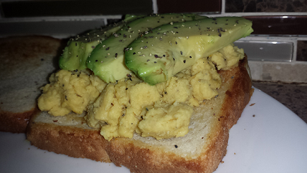 AterImber.com - The Veg Life - Product Review - Avocado Toast - VeganEgg - Vegan Food