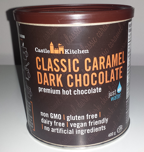 AterImber.com - The Veg Life - Product Reviews - Castle Kitchen Classic Caramel Hot Chocolate