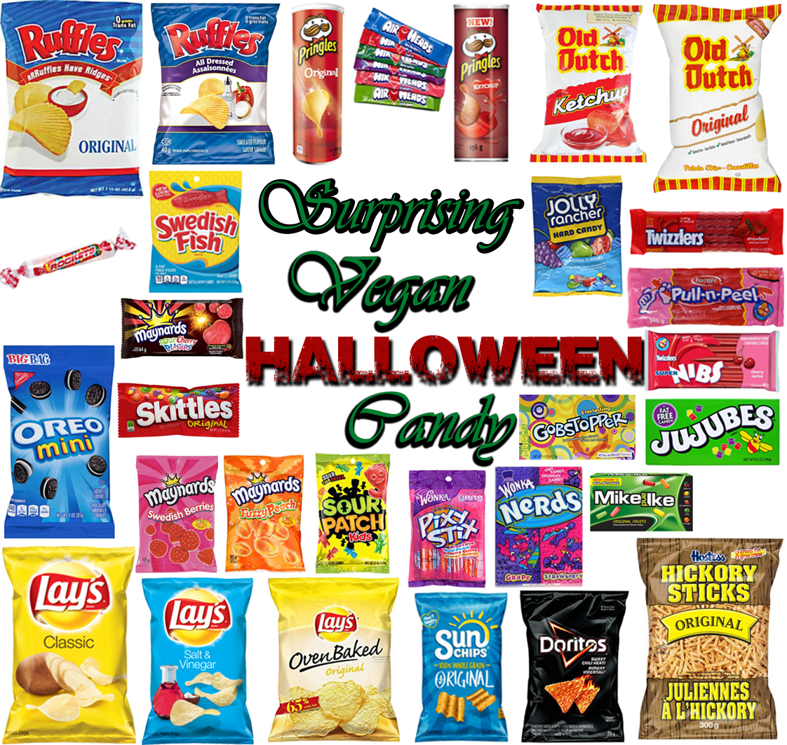 AterImber.com - The Veg Life - Surprising Vegan Halloween Candy - Halloween Candy, halloween, holiday