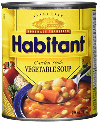 AterImber.com - The Veg Life - Product Reviews - Habitant Garden Style Vegetable Soup - vegan, food review