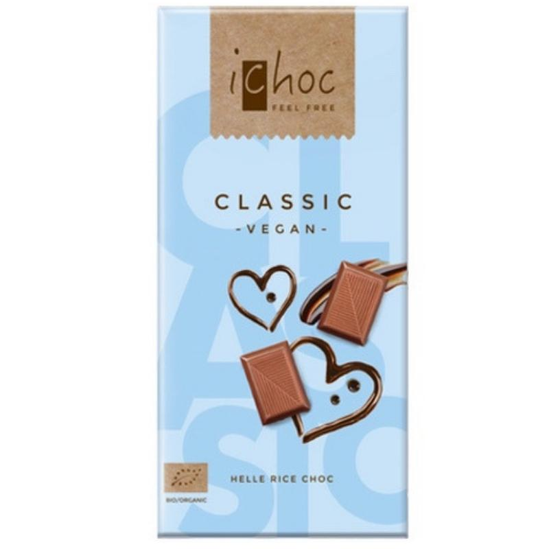 AterImber.com - The Veg Life - Vegan Product Review - iChoc Classic Chocolate Bar - vegan food, food review, chocolate, Valentines Day
