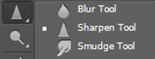 AterImber.com - Writing Tips - PHSH Tutorial Intro - Blur, Sharpen, Smudge Tool - Photoshop