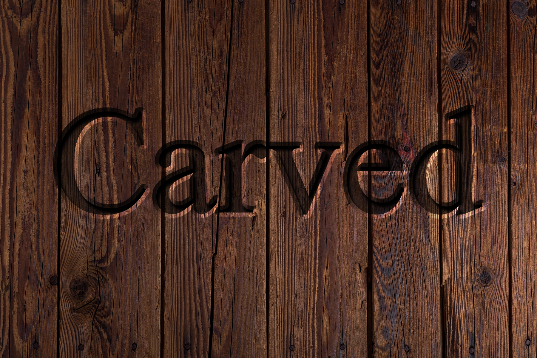 AterImber.com - Writing - Writing Tips - PHSH Effect Series - Carved Effect - Carved Effect Finsihed Wood - phsh effect, writing tips, book cover tips, indie author tips, self pub tips