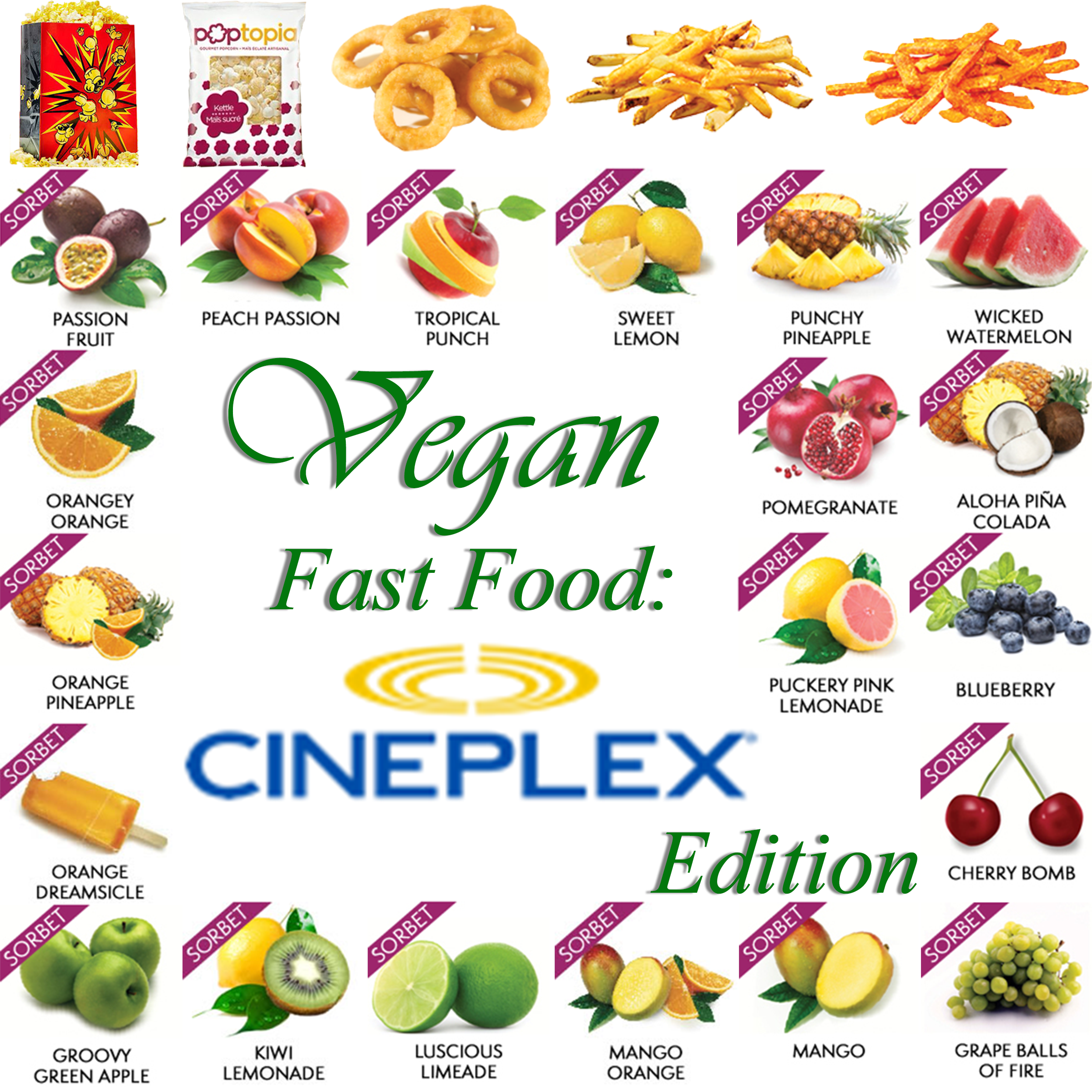 AterImber.com - The Veg Life - Vegan Tips - Vegan Fast Food Cineplex Edition