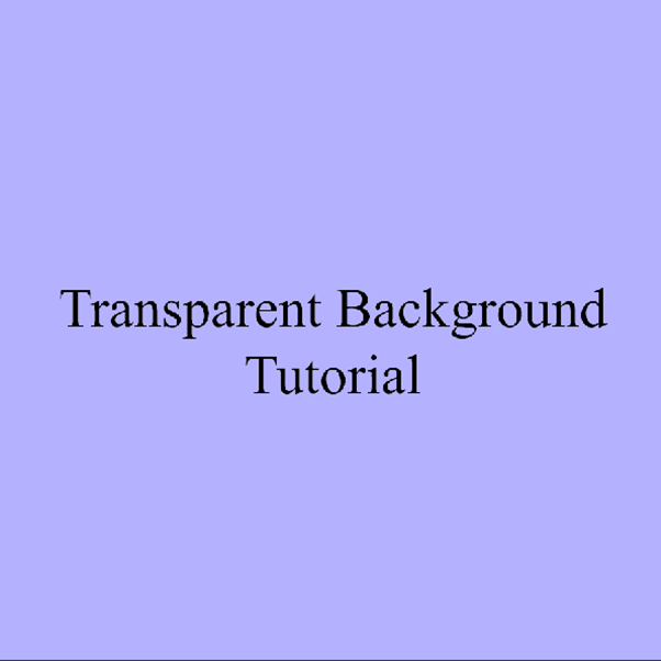 AterImber.com - Writing Tips - PHSH Tutorial - Making a Transparent Background - Trans Lavender