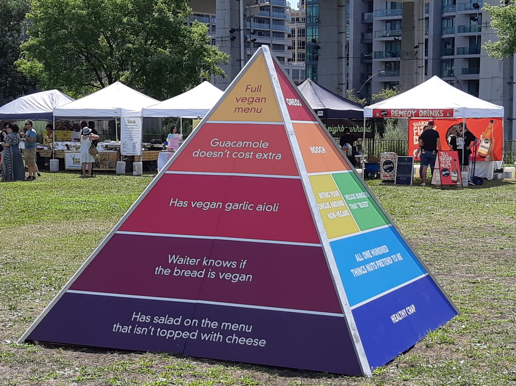 AterImber.com - The Veg Life - Vegandale Festival 2019 Review - Vegan Pyramid