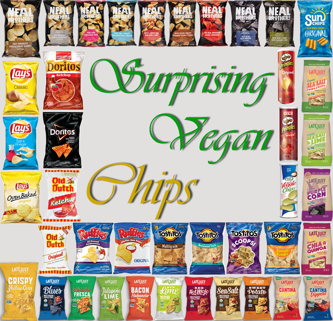 AterImber.com - The Veg Life - Surprising Vegan Series - Surprising Vegan Chips - vegan food, chips