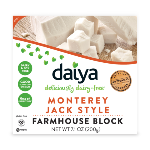 AterImber.com - The Veg Life - Product Reviews - Daiya Foods Monterey Jack Style Farmhouse Block - vegan food, vegan cheese, vegan food review, food reviewer