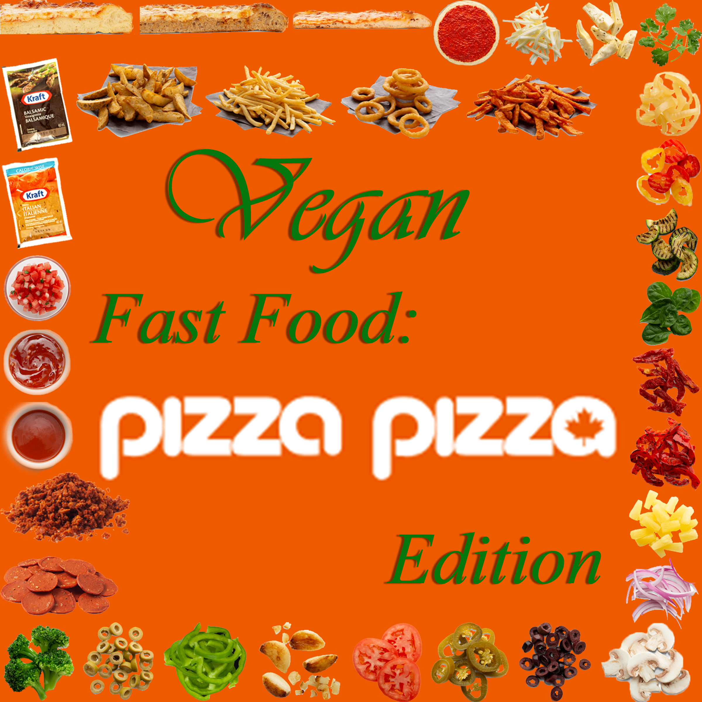 AterImber.com - The Veg Life - Vegan Fast Food: PizzaPizza Edition - vegan food, vegan fast food, Pizza Pizza, vegan options