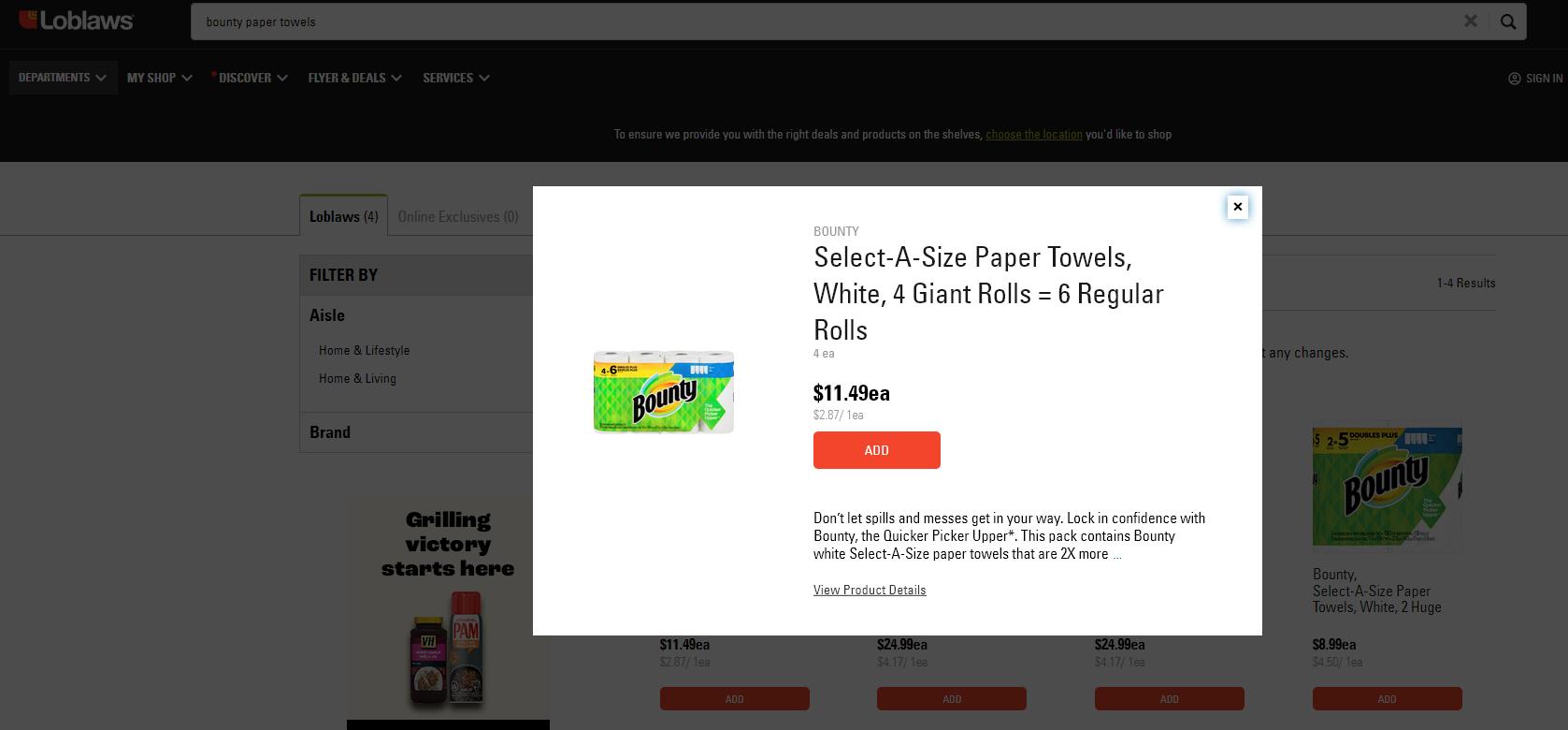 AterImber.com - No. Mad. - Zero Waste - Starting Your Zero Waste Journey - Loblaws Bounty Paper Towels Price - low waste, zero waste, sustainability, save the planet, single use plastics