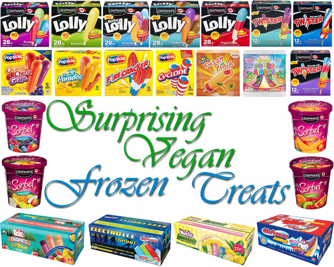 AterImber.com - The Veg Life - Surprising Vegan Series - Surprising Vegan Frozen Treats - freezies, popsicles, Chapmans, Popsicle, Mr. Freeze, Sorbet, vegan food, vegan ice cream, vegan food blog, vegan food blogger, food blogger, Canadian blogger