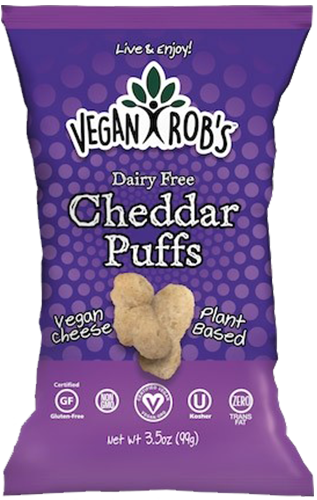 AterImber.com - The Veg Life - Product Reviews - Vegan Rob's Cheddar Puffs - vegan food, vegan snacks, vegan cheese, product review, food reviewer, halloween snacks, cheese puffs