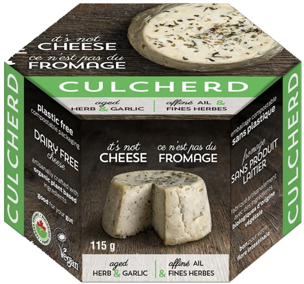 AterImber.com - The Veg Life - Product Reviews - Culcherd Herb and Garlic Cheese Review - vegan cheese, vegan food, Culcherd, cashew cheese, product reviews, food blogger, vegan food blogger