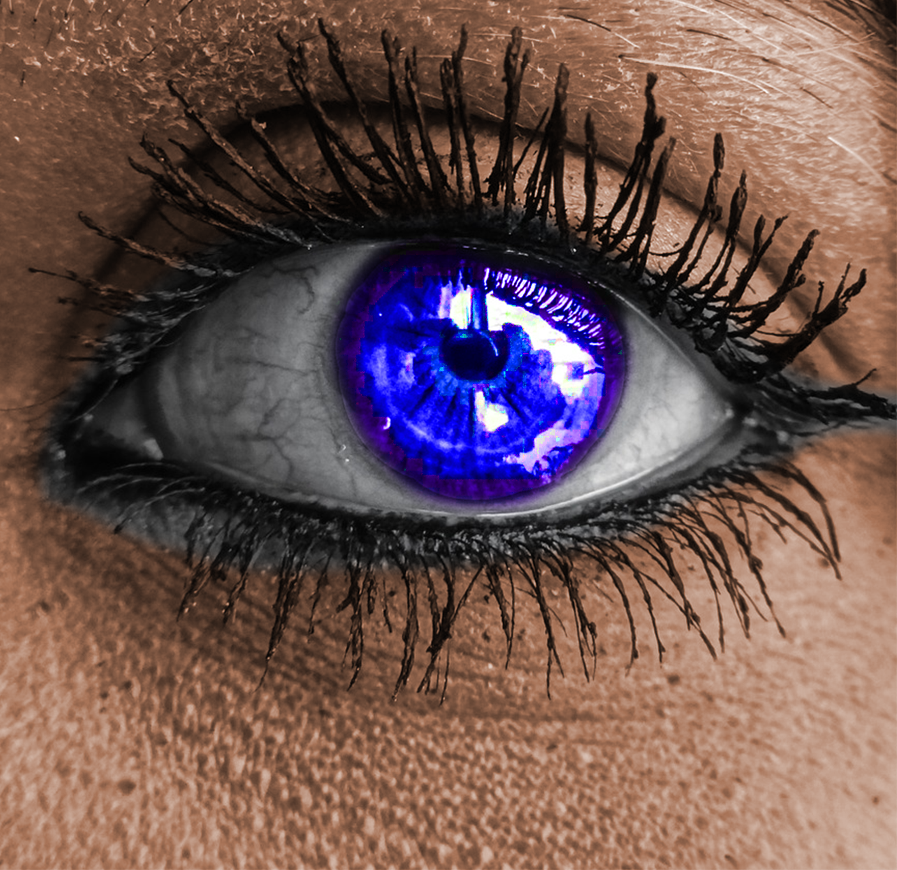 AterImber.com - Writer Tips - Photoshop Tutorials - Changing Eye Colours - Full Coloured Eye - PHSH Tutorials, Outer Glow, photoshop, tutorials, indie authors, book covers