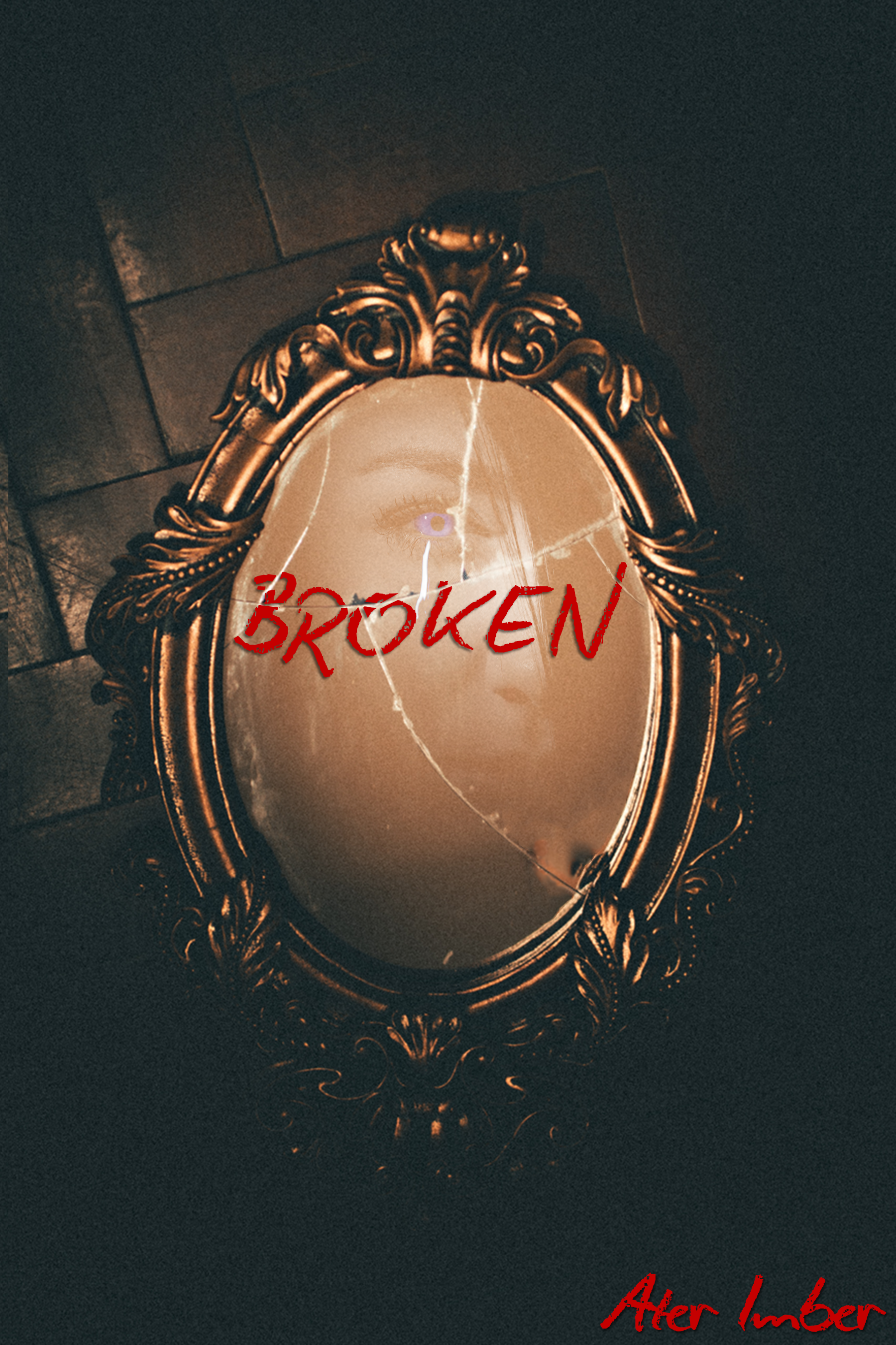 AterImber.com - Books - Broken - Broken Cover - indie author, self-published, writing, novella, Canadian authors