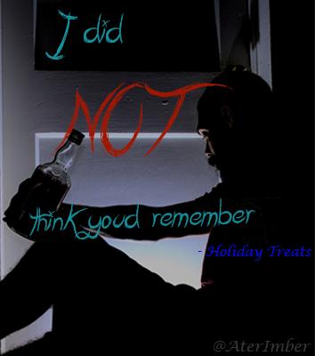 AterImber.com Holiday Treats Supernatural Fanfiction Book Poster