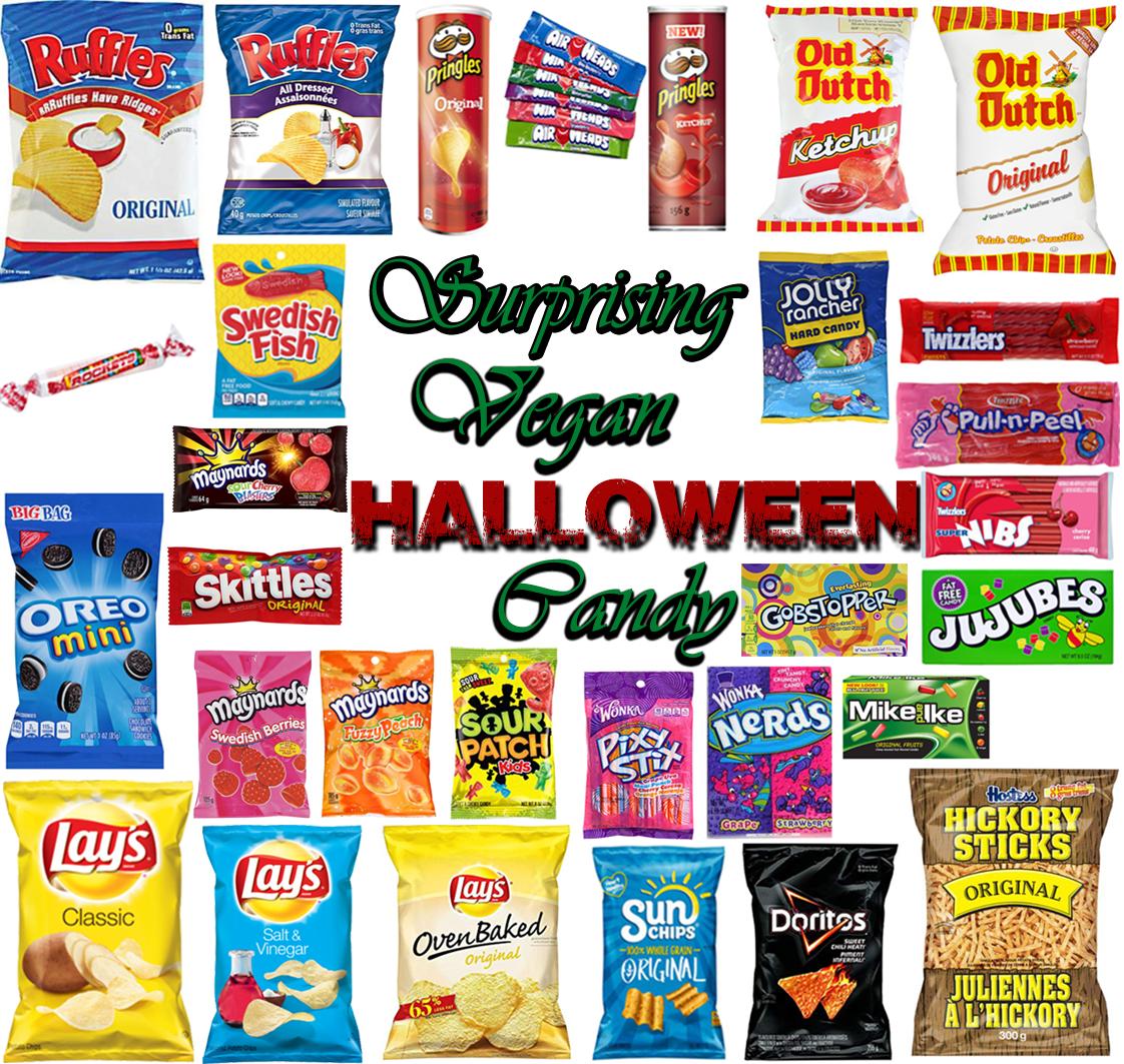 AterImber.com - The Veg Life - Surprising Vegan Halloween Candy - Halloween Candy, halloween, holiday