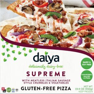 AterImber.com - The Veg Life - Product Review - Daiya Supreme Pizza - vegan food, food review, vegan pizza