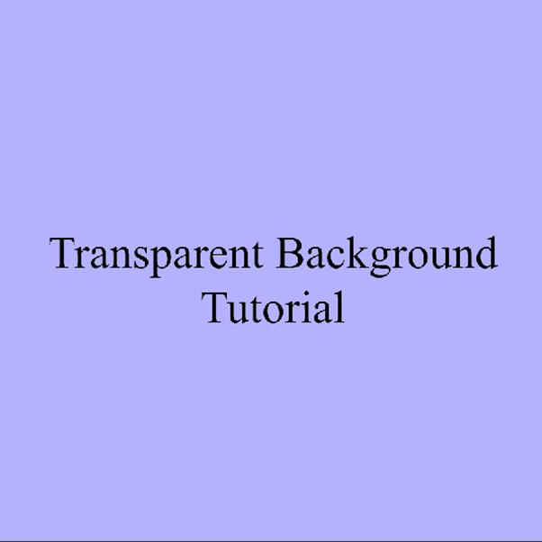 AterImber.com - Writing Tips - PHSH Tutorial - Making a Transparent Background - Trans Lavender
