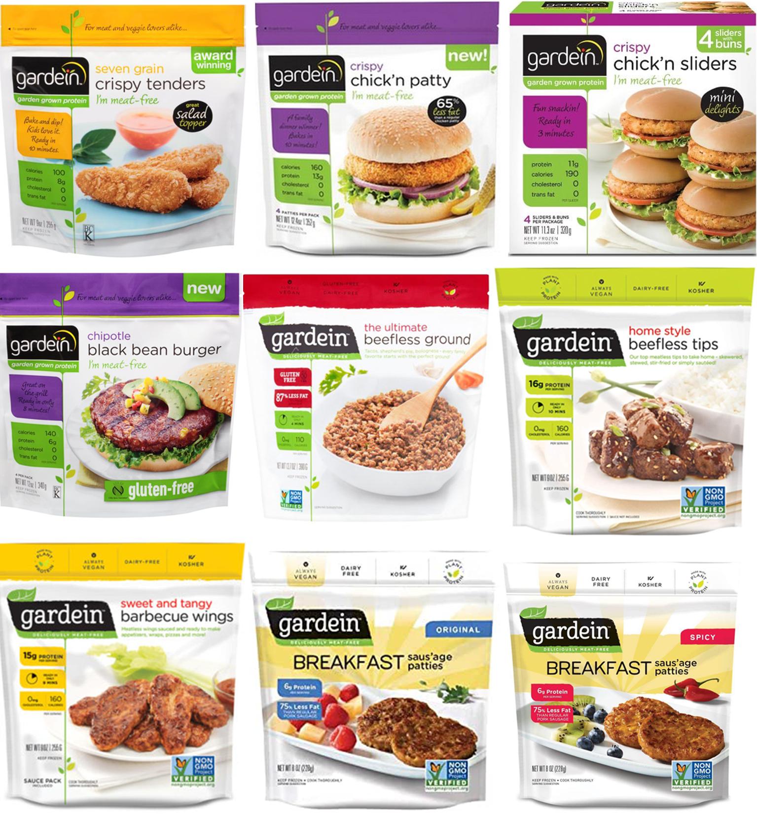 AterImber.com - The Veg Life - Vegan Tips - Store Crawl: Metro Online Edition - Gardein Collage - vegan, vegan food, shopping, vegan food reviewer, vegan food blogger