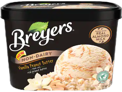 AterImber.com - The Veg Life - Product Reviews - Breyers Non-Dairy Vanilla Peanut Butter Ice Cream Review - vegan food, vegan food review, vegan ice cream, icecream review, vegan reviewer, blogger, food reviewer
