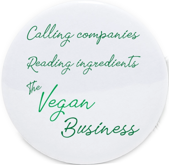 AterImber.com - The Veg Life - Vegan Business Button - vegan merch, veganism, vegan clothing, veganism joke