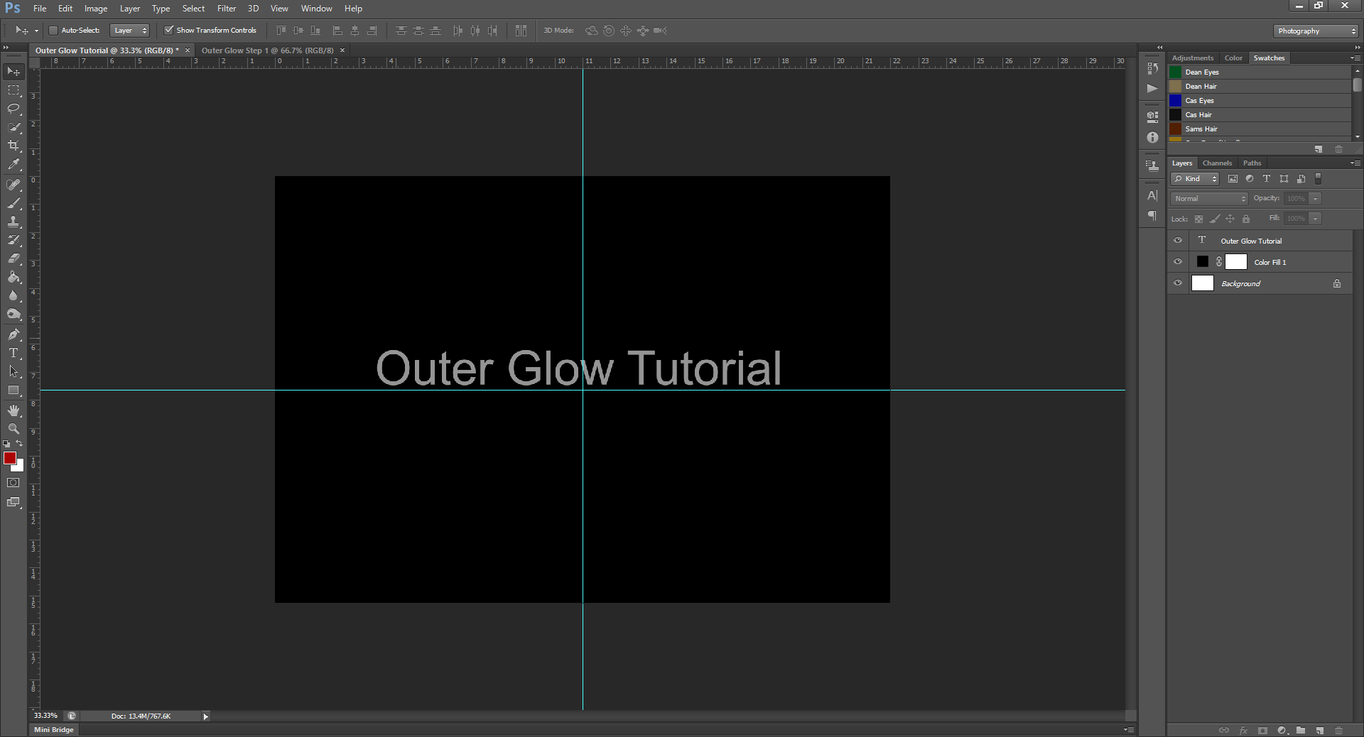 AterImber.com - Writing - Writer Tips - Photoshop Tutorials - Outer Glow - Step 1 - PHSH Tutorials, Outer Glow, photoshop, tutorials, indie authors, book covers