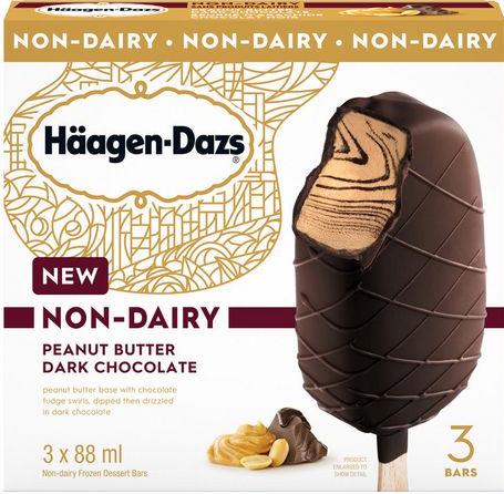 AterImber.com - The Veg Life - Product Reviews - Haagen-Dazs Non-Dairy Peanut Butter Dark Chocolate Ice Cream Bar - Haagen-Dazs PB Bar Box - vegan, vegan food, vegan ice cream, non-dairy icecream, food review, food reviewer, blogger, food blogger, summer